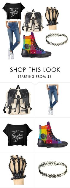 """""""Untitled #47"""" by zoeyfrederick on Polyvore featuring Wrangler and Converse"""