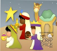 Christmas Nativity 3- Wisemen: click to enlarge