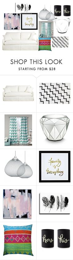 """My Living area!!!"" by mariahflores-1 ❤ liked on Polyvore featuring beauty, Creative Bath Products, Lala + Bash, Moooi, Bashian, Koko, Kate Spade and living room"