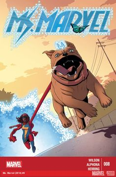 Following her recent team-up with Wolverine, Jersey City's Ms. Marvel is hot on the trail of the Inventor. She's also found herself on the radar of both the Avengers and Inhumans, bringing Lockjaw ...