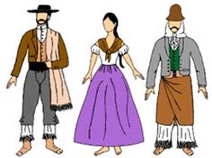Mi Sala Amarilla: La vestimenta en 1810. Recursos para el aula. Estilo Popular, India Images, Disney Characters, Fictional Characters, Snow White, Disney Princess, School, Google, Fashion