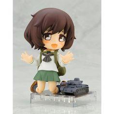 Anime Girls und Panzer das rubber Keychain Key Ring Race straps Cosplay