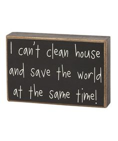 And I'd totally rather save the world!  :)