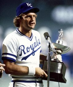 George Brett, HOF 1999, is one of four players in MLB history to accumulate 3,000 hits, 300 home runs, and a career .300 batting average (the others being Hank Aaron, Willie Mays, and Stan Musial).