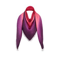 Blurrygram Monogram Shawl   in WOMEN's ACCESSORIES SCARVES, SHAWLS & MORE collections by Louis Vuitton