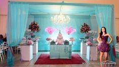 Festa de 15 anos da Jhennyfer no salão de festas Bora Bora