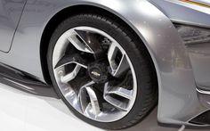 Chevrolet Mi-ray Roadster Concept: Chevrolet Mi-ray Roadster Concept Wheel Design – froggpond.com