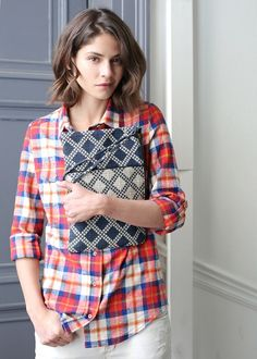Sézane / Morgane Sézalory - Collection LIfestyle - Delhi clutch - #sezane www.sezane.com