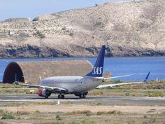 Canary Islands Spotting....Spotter: SAS Scandinavian LN-TUJ Boeing 737 LPA/GCLP Spotti...