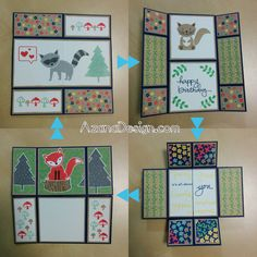 Foxy Friends Fox Builder Punch Affectionately Yours Endless Infinity Never-Ending | Astrid Haberecht – Independent Stampin' Up! Demonstrator – Brisbane Australia