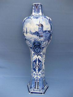 Online veilinghuis Catawiki: Porceleyne Fles - Zeldzame grote antieke Jugendstil vaas