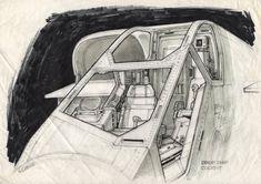The Secret Space Base: Ron Cobb Aliens Dropship Concept Art! Concept Draw, Alien Concept Art, Close Up Art, Sci Fi Environment, Fritz Lang, Alien Design, World Of Tomorrow, Aliens Movie, Exploration