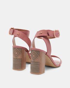 eeaa087a2 59 Best Heeled Sandals images