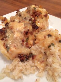 """Cassie and I made a bunch of freezer meals the other day, and this Swiss Cheese Chicken was one of them. We ate it last night and it was a hit!! Not only was it delicious but it was really quick to put together. It can be an easy meal to throw together, or a … Continue reading """"Swiss Cheese Chicken – Freezer Ready"""""""