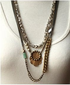 Obsessed with the vintage styling of Sheer Addiction Jewelry. Gorgeous stuff.