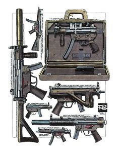 Robert Burrows - Heckler & Koch MP5