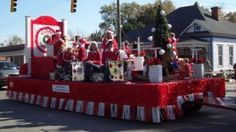 "parade+theme+ideas | What ideas do you have regarding a ""12 Days of Christmas"" themed float ..."