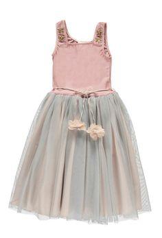 Gala Mesh Dress in Pink | Atsuyo et Akiko