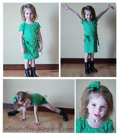 Its Sew for You: Wear Green - J Crew insired Toddler Dress