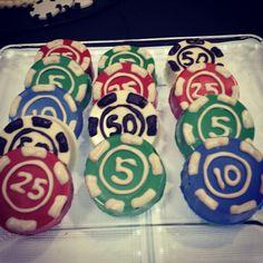 Poker chip chocolate covered oreos. #sugarmommysgtx