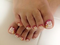 Toenail Designs For Pedicure   Nail Toe Beauty Care » pedicure nail art designs