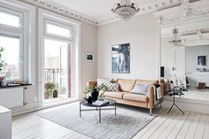 This Scandinavian Design Trend Is Proven to Boost Happiness - - Forget Hygge—the latest Swedish design trend is good for your home and your health. Scandinavian Apartment, Scandinavian Design, Swedish Design, Scandinavian Interiors, Nordic Design, Danish Design, Room Inspiration, Interior Inspiration, Home Interior