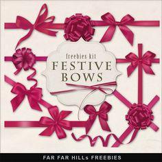 Far Far Hill: New Freebies Kit of Bows
