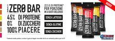 💪 Protein Bar a ZERO ZUCCHERO! Disponibili le barrette più tecniche al prezzo più scontato! 45% di #Proteine, 0 zuccheri, senza lattosio, senza glutine Info Prodotto: https://goo.gl/vLKgrr
