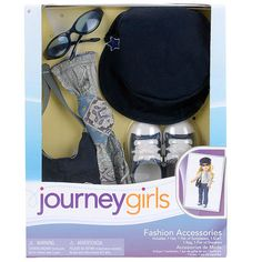 """Journey Girls 18 inch Doll Fashion Sets - Military Chic Paisley Scarf - Toys R Us - Toys """"R"""" Us"""