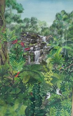 Lesley uses vibrant colours to capture the essence of Australia's flora, fauna and iconic images in her art.