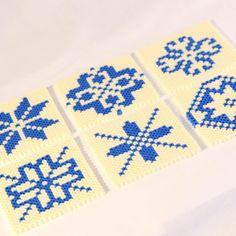 hama pearls knitting pattern selbumønster