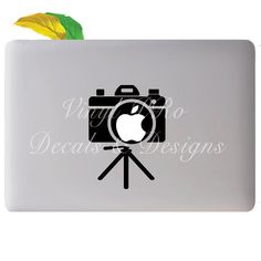 Camera Tripod Photography Lens Art Photo Design by StickerSwagger