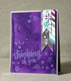 Thinking of You, featuring Simon Says Stamp January Card Kit | shurkus.com @simonsaysstamp #handmadethankyou