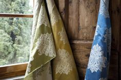 Bode sources quality fabric from Florence, Italy for upholstery, curtains and cushions
