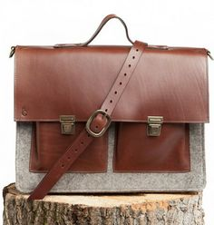 One can dream.... C Comme Ca - Professeur Messenger Bag - Dalhousie - Victoire Boutique.