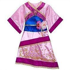 Disney Store Mulan Costume Dress XS [ 4 ] for Toddler Girls Disney Interactive Studios http://www.amazon.com/dp/B006LVLCH2/ref=cm_sw_r_pi_dp_pfBIwb0V0XJAS
