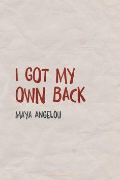 #mayaangelou