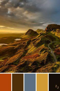ZJ Colour Palette 507 #colourpalette #colourinspiration