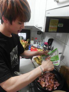 bts-trans - Posts tagged cooking with jin Seokjin, Namjoon, Taehyung, Jimin, Bts Bangtan Boy, K Pop, Matou, Worldwide Handsome, Jung Hoseok