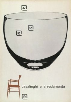 By Lora Lamm (born 1928), 1956, Casalinghi e arredamento, la Rinascente. (I)