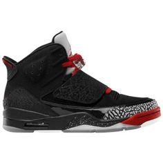 Jordan Son of Mars - Men's - Basketball - Shoes - Black/White/Varsity Red