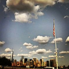Manhattan vista dal Ponte di Brooklin#new york #america agosto 2014
