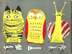 Barbara Jones, Looking at Things, via Vintage Poster Blog