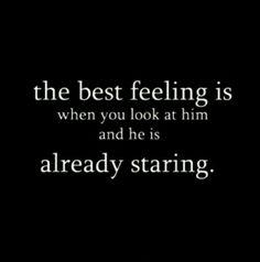 I love that feeling