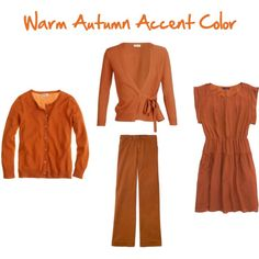 A fashion look from February 2012 featuring fitted dress, Dries Van Noten and short-sleeve cardigan. Browse and shop related looks. Soft Autumn, Warm Spring, Fall Color Palette, Color Palettes, Fall Capsule Wardrobe, Bronze, Winter Coats Women, Fashion Colours, Fall Outfits