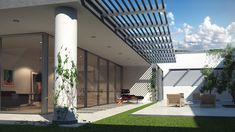 This tutorial will show you how to use VRay Sun for realistic rendering an architectural exterior daylight scene in 3ds Max.