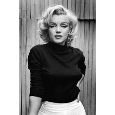 Happy Birthday, Marilyn Monroe! ❤ liked on Polyvore featuring models and people