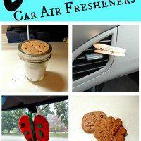 Homemade CAR AIR FRESHENERS * DIY *