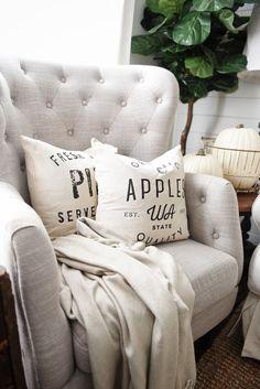 Neutral Fall Pillows -