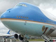 Air Force One at FCO Rome airport - 27 mar 2014